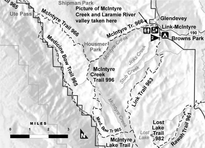 McIntyre Trail Map